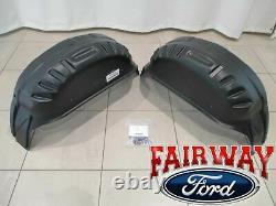 17 thru 22 Super Duty F-250 F-350 OEM Ford Parts Rear Wheel Well Liner Kit PAIR