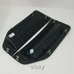 17 thru 22 Super Duty F-250 Lariat Sport Package Black Fender Emblems Pair of 2