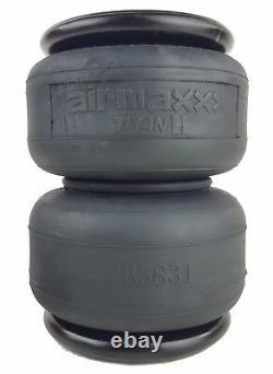 2 2500 two ply air bags suspension part 1/2npt port Titan II air springs