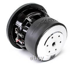 (2) New Skar Audio Zvx-8 D4 8 900w Rms Dual 4 Spl Car Subwoofer Pair