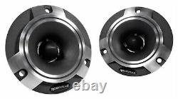 2 Pairs Rockville X6.5C Competition 6.5 1000 Watt Component Car Audio Speakers