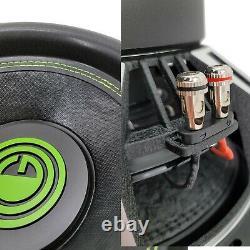 2 x Warzone 15 Inch 7000 Watt Car Audio Subwoofer with 4 Ohm DVC Power (2 15 SUB)