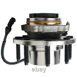 4WD Pair Front Wheel Bearing & Hub for 1999-2004 Ford F-250 F-350 SD Excursion