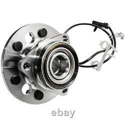 4WD Pair Front Wheel Bearing Hub for Chevy GMC K1500 Suburban K2500 Yukon Tahoe