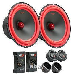 6.5 2 Way Component Speaker System 1 Dome Tweeters Pair Cerwin Vega V465C