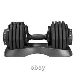 ADJUSTABLE DUMBBELLS 25kg x2 (50kg) / PAIR BODY TECHNICS