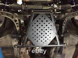 BMW E36 X-Brace Ölwannenschutz Unterfahrschutz & Domstrebe Drift King driftking