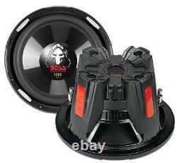 BOSS AUDIO Phantom P106DVC 10 4200W DVC Car Subwoofers Power Subs PAIR