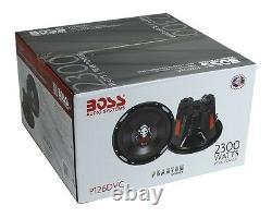 BOSS Audio P126DVC Phantom 12 4600W 4 Ohm DVC Car Audio Subwoofers, Pair