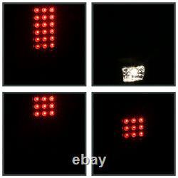 Black For 2002-2006 Dodge Ram 1500 2500 3500 LED Tail Lights Brake Lamps Pair