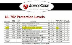 Body Armor Bullet Proof Plates ArmorCore Level IIIA+ 3A+ 11x14 PAIR