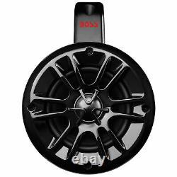 Boss Audio MRWT40 4 400W 2-Way Weatherproof Marine Waketower Speakers, Pair