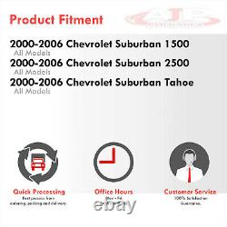 Chrom Clear Corner LED DRL Bumper Head Lights Lamp LH+RH For 1999-2002 Silverado
