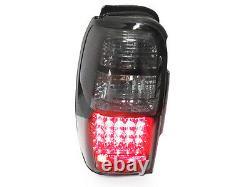 DEPO Black / Smoke Rear Tail Lights Pair For 1996-2002 Toyota 4Runner SR5