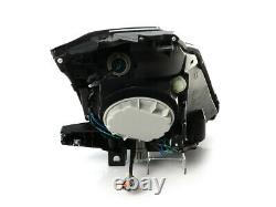 DEPO Pair Bi-Xenon Black Projector Headlights DOT/SAE For 2003-2009 Nissan 350z