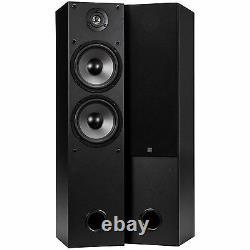 Dayton Audio T652 Dual 6-1/2 2-Way Tower Speaker Pair