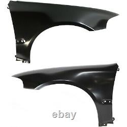 Fender Set For 1992-95 Honda Civic Coupe Hatchback With Molding Holes Front 2Pc