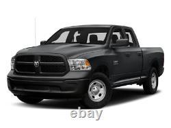 Fit 2009-2018 Dodge Ram 1500/2500/3500 Chrome Quad Headlights HeadLamps Pair