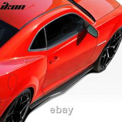 Fits 10-15 Chevy Camaro Ikon Style Rocker Pannel Side Skirts Extension Pair PP