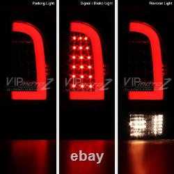 For 05-15 Toyota Tacoma PickUp Truck Pair Smoke Tinted LED Neon Tube Tail Light