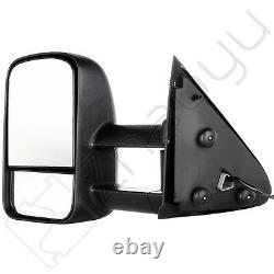 For 97-03 Ford F150 Side View Mirrors Power Pair Set Tow Mirrors L+R NO Heated