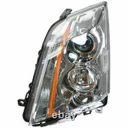 Halogen Headlights Headlamps Left & Right Pair Set for 08-14 Cadillac CTS