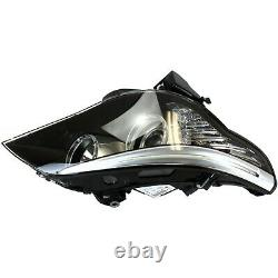 Headlight Set For 2008-2010 BMW 528i 535i Driver and Passenger Side with bulb