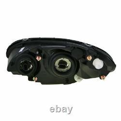 Headlights Headlamps Left & Right Pair Set NEW for 01-05 Chrysler PT Cruiser