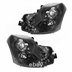 Headlights Headlamps Left & Right Pair Set NEW for 03-07 Cadillac CTS