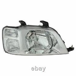 Headlights Headlamps Left & Right Pair Set NEW for 97-01 Honda CR-V