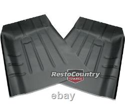 Holden Front Floor Pan Rust Repair Section PAIR HQ HJ HX HZ WB foot