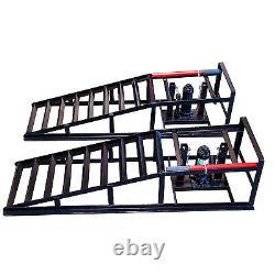 Hydraulic Vehicle Ramps 10,000lb. Capacity Portable Car Repair A Pair