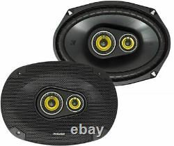 Kicker CS Series 6x9 3-Way Car Speakers CSC693 Pair (Ships as 46CSC6934)