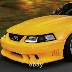 Led Drlfor 1999-2004 Ford Mustang Pair Black Housing Clear Corner Headlight
