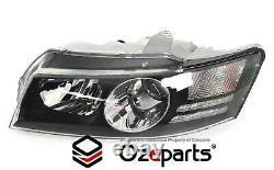 Pair LH+RH Head Light Projector For Holden Commodore VZ SS Calais Crewman 0407