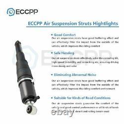 Pair Rear Air Suspension Shock For GMC Yukon Escalade Avalanche Suburban 02-14