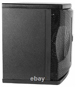 Pair Rockville KPS80 8 3-Way 800 Watt Karaoke/Pro Speakers+Wall Brackets / MDF