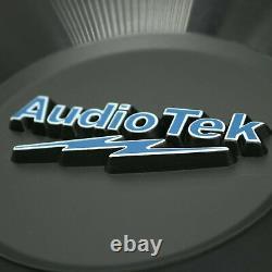 Pair of Audiotek 12 Inch 3000 Watt Car Audio Subwoofer with DVC Power (2 Woofer)
