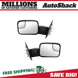 Power Heated Tow Side Mirror Pair for 2003-2009 Ram 2500 3500 2002-2009 Ram 1500