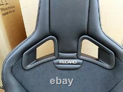 Recaro Sportster Cs Seats, Pair, Vinyl Leather / Dinamica, Heated, Brand New