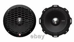 Rockford Fosgate PPS4-6 6.5 400W 4-Ohm Midrange Car Audio Speaker, Pair