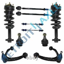 Struts Control Arms Chevy Tahoe Silverado Sierra 1500 Front Ball Joint 10pc Kit