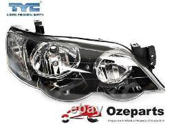 TYC Set Pair LH+RH Head Light Lamp For Ford BA BF Falcon XR6 XR8 FPV GT Typhoon